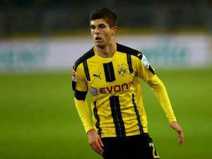 us soccer players in germany christian pulisic