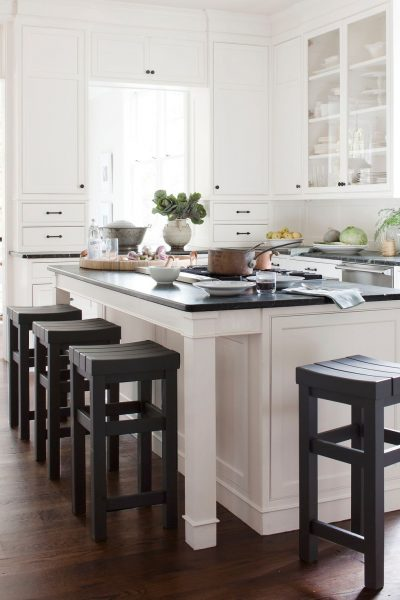 kitchen island with seater 6