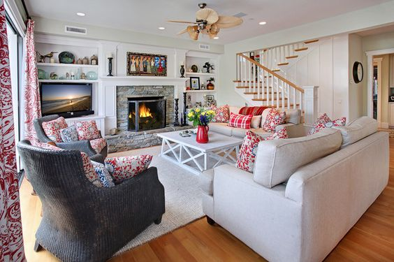 living room ideas with fireplaces