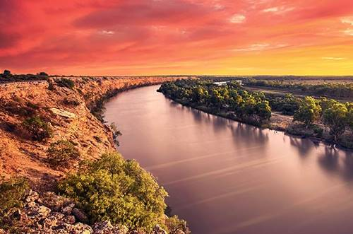 longest river in australia murray river