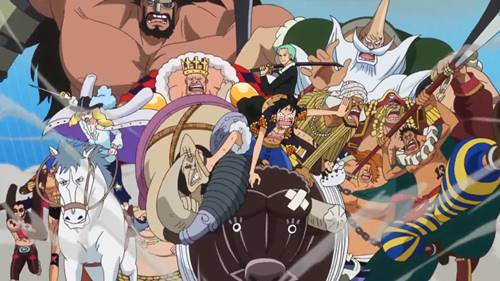 best one piece arc dressrosa arc