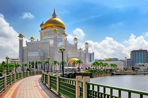 developed country in asia brunei