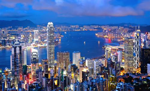 developed country in asia hong kong