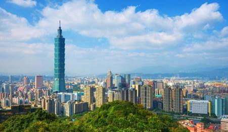 developed country in asia taiwan