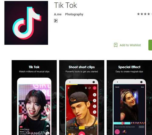 popular songs in tik tok apps