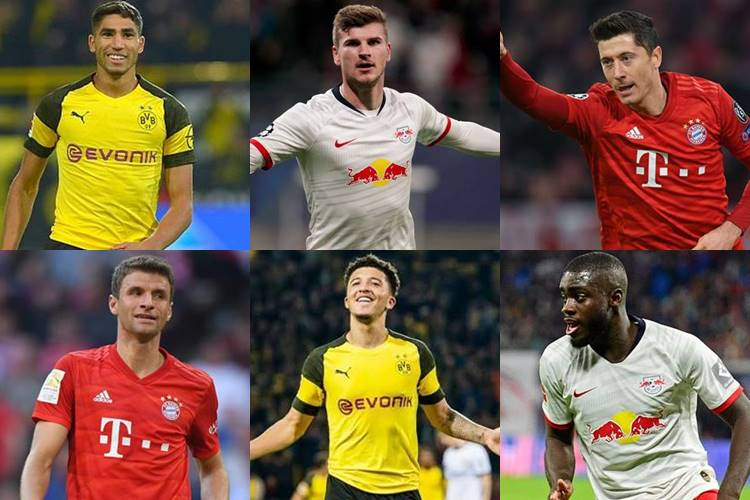 bundesliga team of the season 2020