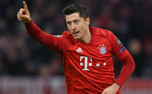 bundesliga team of the season robert lewandowski