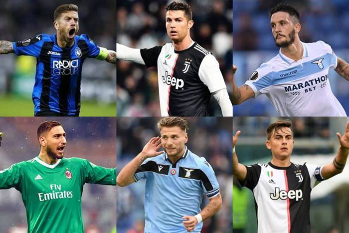 serie a team of the season 2019-2020