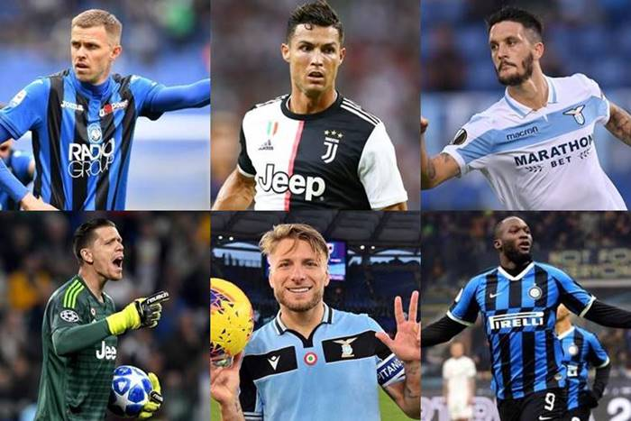 serie a team of the season 2020