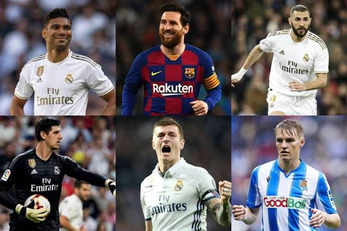 la liga team of the season 2020