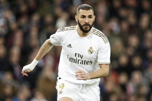 la liga team of the season karim benzema