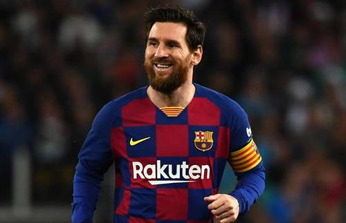 la liga team of the season lionel messi