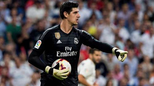 la liga team of the season thibaut courtois