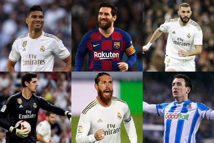2019-2020 la liga team of the season
