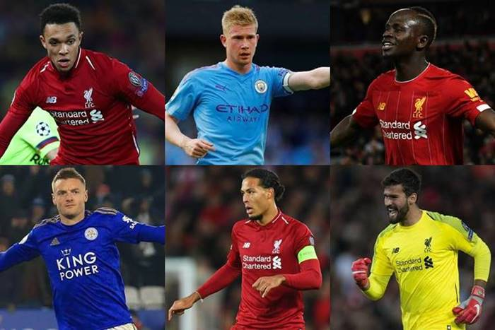 premier league team of the season 2020