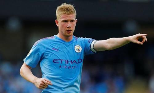 premier league team of the season kevin de bruyne