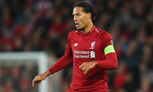 premier league team of the season virgil van dijk