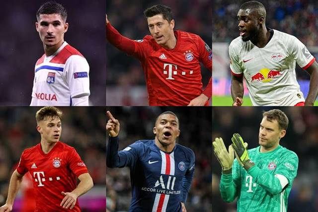 champions league team of the season 2020