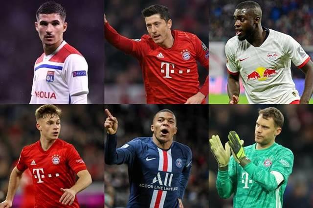 champions league team of the season 2020